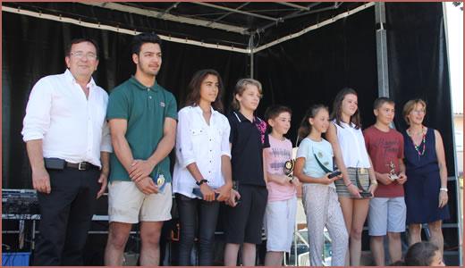 Trophées jeunes 2015