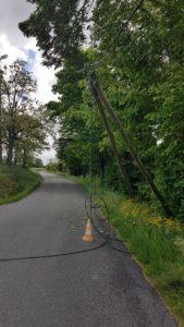 Coupure ligne téléphonique - Route de Castelnau - Mai 2019