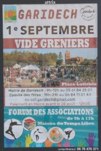 Vide-greniers Sept. 2019