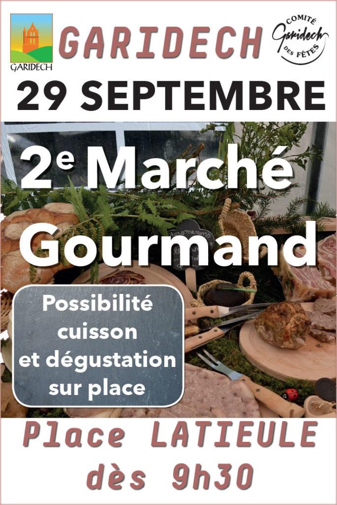 Marché Gourmand - Sept. 2019