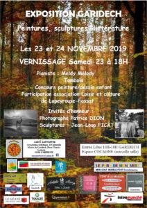 Exposition d'automne - Gar'ô Zartistes - 2019