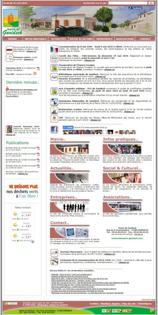 Site Internet 2008-2020