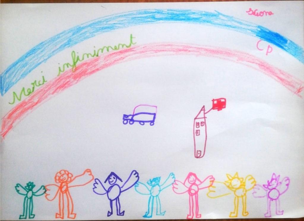 Un dessin pour dire merci - Keona