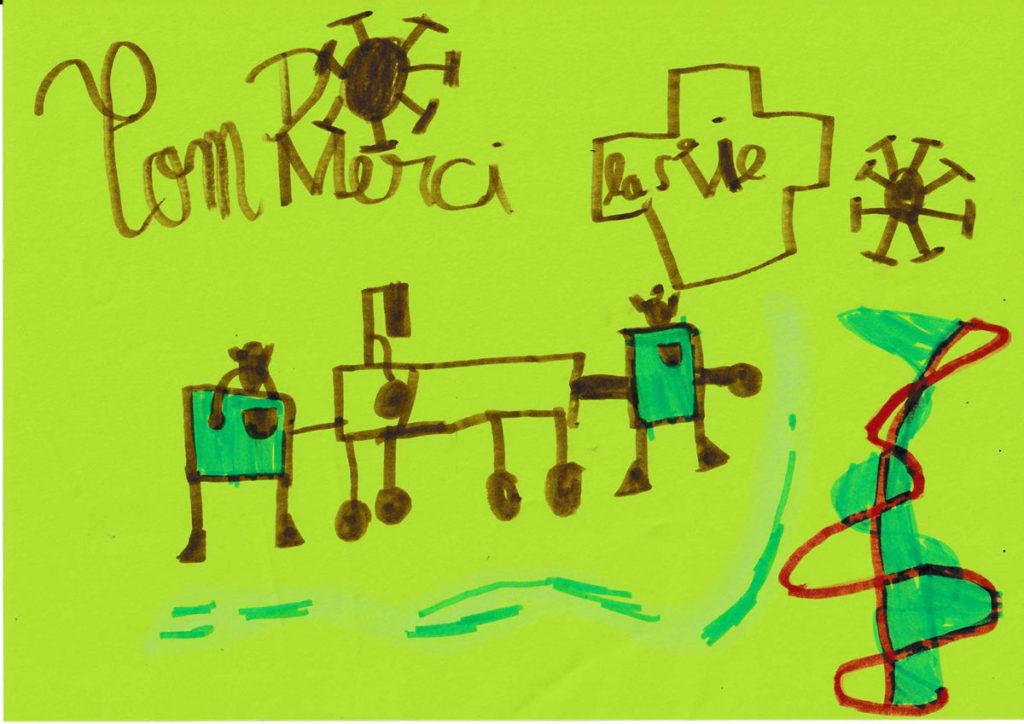 Un dessin pour dire merci - Tom
