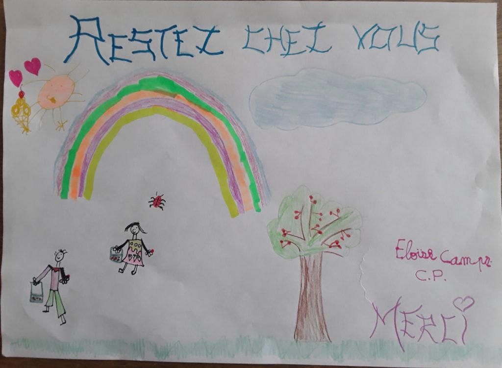 Un dessin pour dire merci - Éloïse (CP)