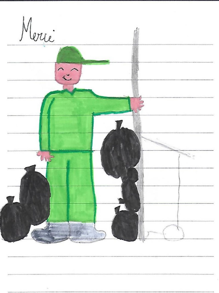 Un dessin pour dire merci - Cédric (CM2)