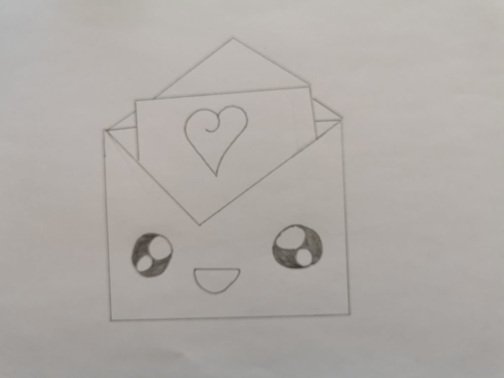 Un dessin pour dire merci - Florine - CP