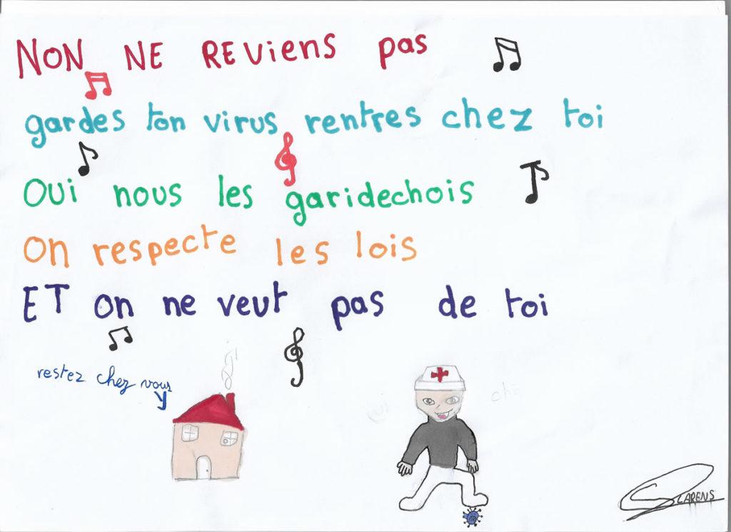 Un dessin pour dire merci - Sacha (CM2)