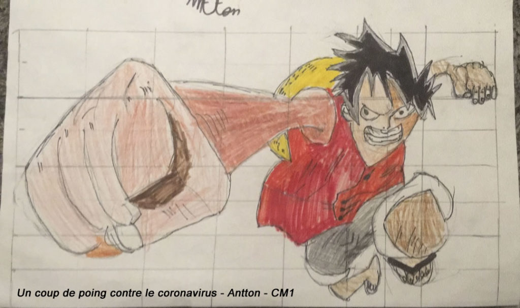 Un dessin pour dire merci - Antton (CM1)