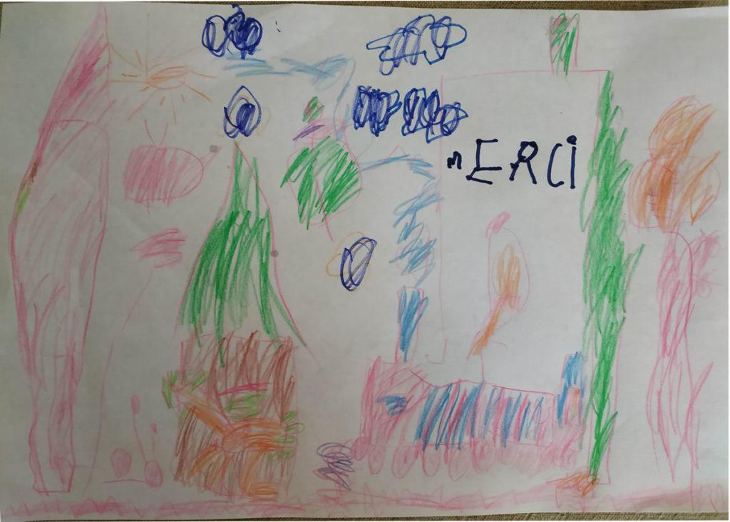Un dessin pour dire merci - Raphaël (MS)
