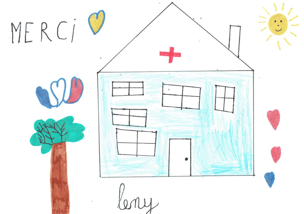 Un dessin pour dire merci - Leny