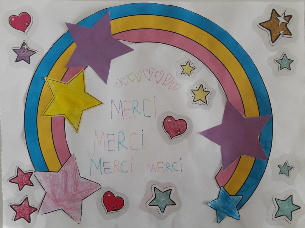Un dessin pour dire merci - Marie (CP)