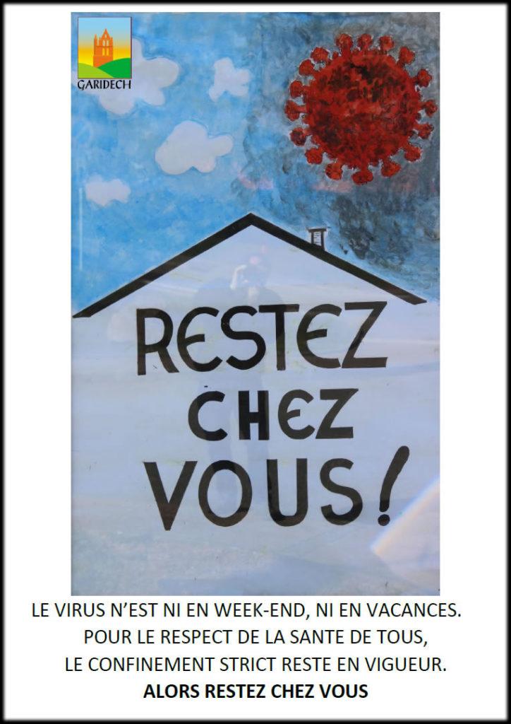 Affiche Mairie de Garidech