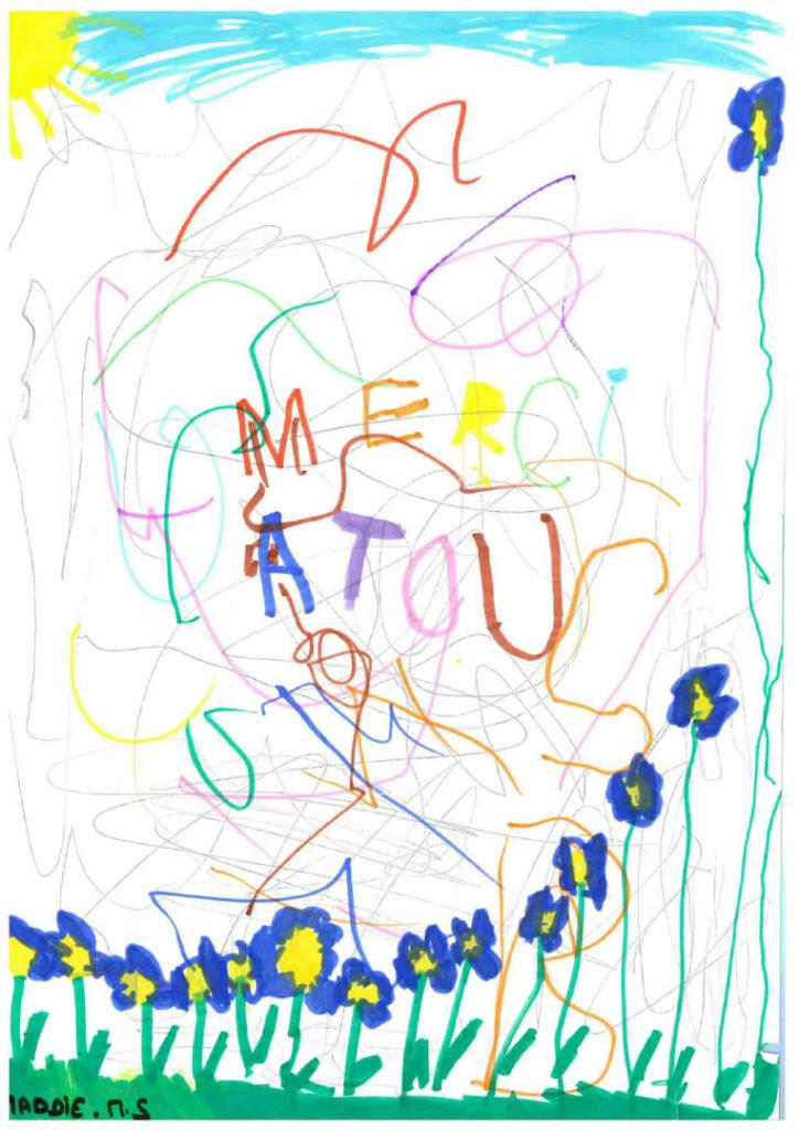 Un dessin pour dire merci - Maddie (MS)