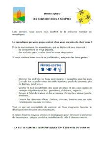 Bulletin anti-moustique 2020