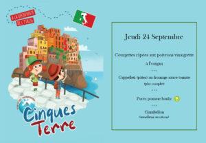Cantine municipale - A la découverte de l'italie