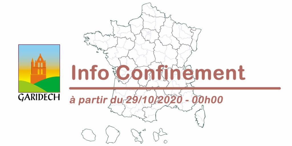 Confinement octobre 2020