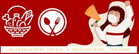 TousSolidaire Producteurs Restaurants Traiteurs