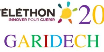 Bandeau Téléthon Garidech 2020